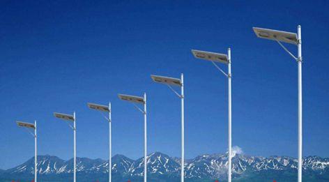 太阳能单火路灯:不消耗常规能源,节能环保、安装方便激光电源